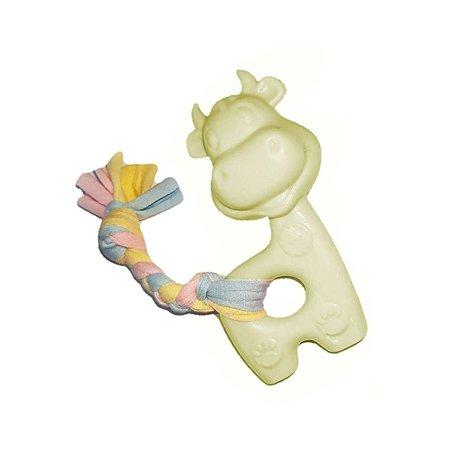 Игрушка-пищалка для щенков Uniglodis желтый Uniglodis