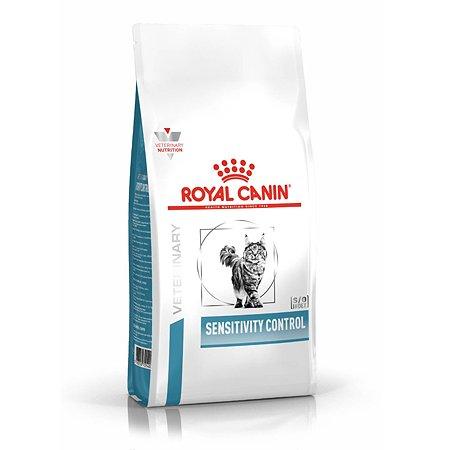 Корм для кошек ROYAL CANIN Sensitivity Control SC27 при пищевой аллергии утка 1.5кг