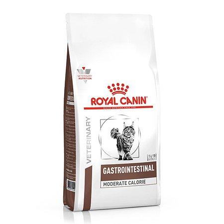 Корм для кошек ROYAL CANIN Veterinary Diet при нарушении пищеварения с умеренным содержанием энергии 2 кг