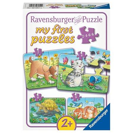 Пазл-игра Ravensburger Милые животные 8элементов 06951