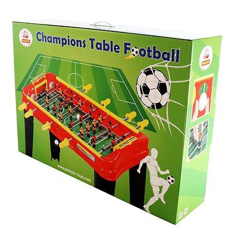 Игра настольная Полесье Champions Мини-футбол Красный