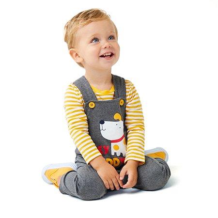 Комплект BabyGo футболка + полукомбинезон