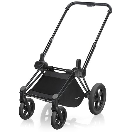 Рама Cybex для коляски Priam Matt Black с колесами All Terrain