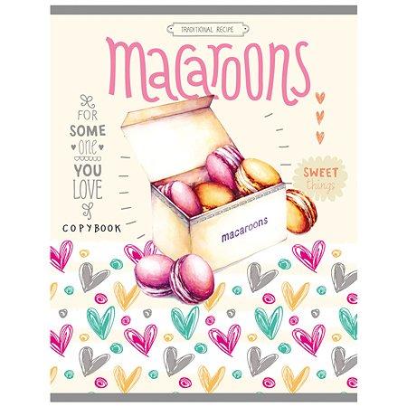 Тетрадь Collezione Любимые пирожные А5 Клетка 48л в ассортименте 48-1394