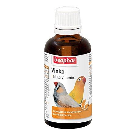 Добавка для птиц Beaphar Vinka для укрепления иммунитета 50мл