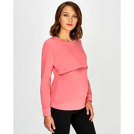 Утпелённый свитшот для беременных и кормящих Just Mom Ulla розовый