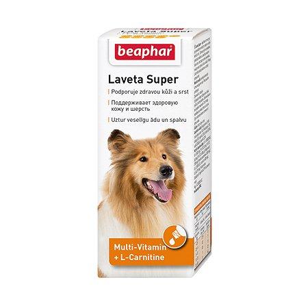 Добавка для собак Beaphar Laveta Super для здоровья кожи и шерсти 50мл