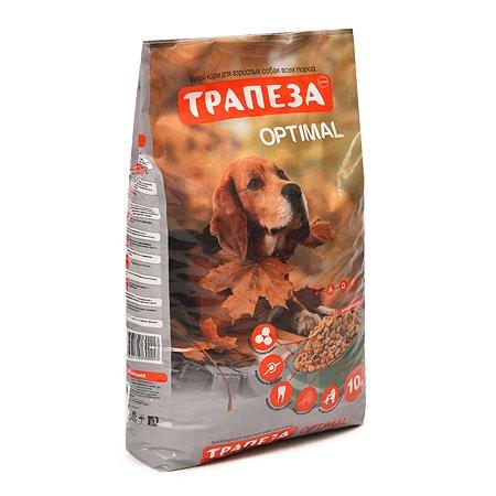 Корм для собак Трапеза Оптималь 10 кг