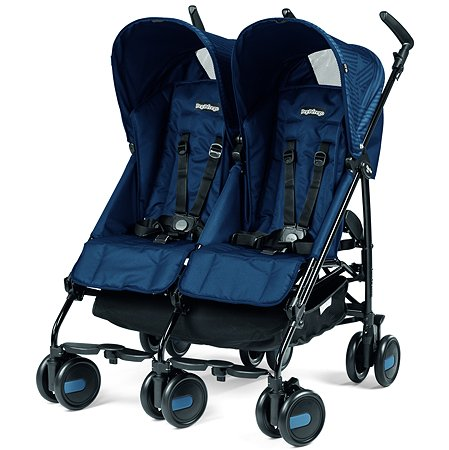 Коляска Peg-Perego Pliko Mini Twin Geo Navy