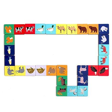 Набор игровой PAREMO Домино животный мир PE120-31