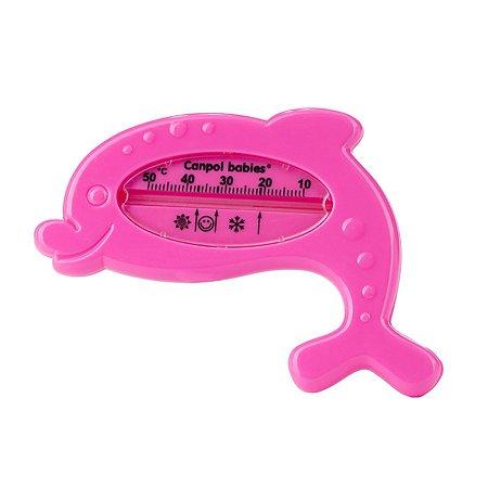 Термометр для ванны Canpol Babies Дельфин Розовый