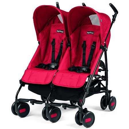 Коляска Peg-Perego Pliko Mini Twin Geo Red