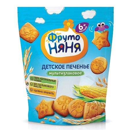 Печенье ФрутоНяня мультизлаковое 150г с 6месяцев