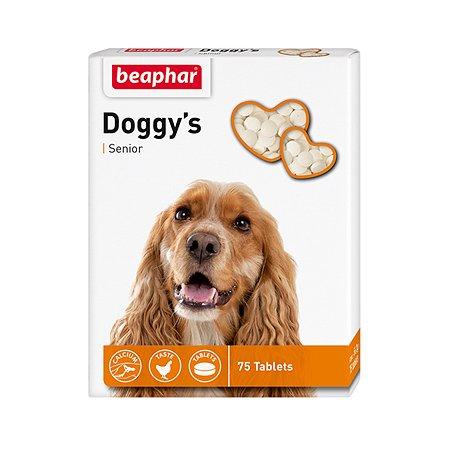 Витамины для собак Beaphar Senior Doggys старше 7лет 75таблеток