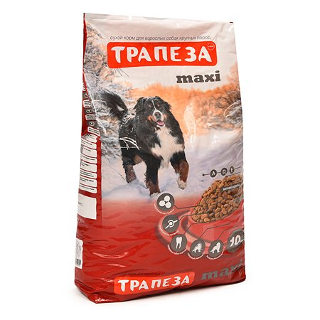 Корм для собак Трапеза Макси 10 кг