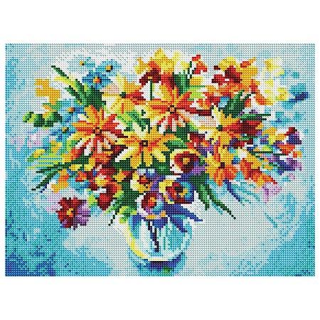 Набор Белоснежка Разноцветные ромашки