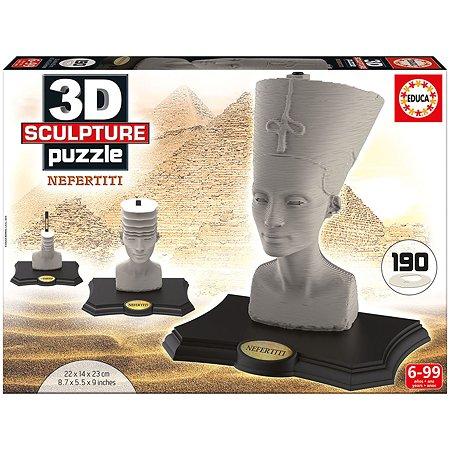 Скульптурный пазл 3D Educa 190 дет. Нефертити