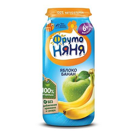 Пюре ФрутоНяня из яблок и бананов 250 г с 6 месяцев
