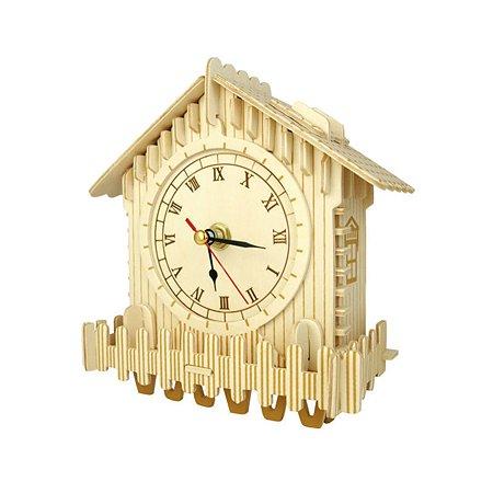 ЗД Пазл Woodkit Часы (с механизмом )