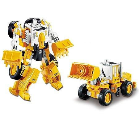 Робот-машинка 2 в 1 Devik Toys Погрузчик
