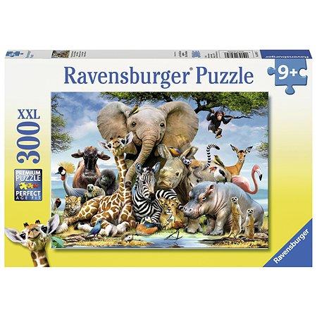 Пазл Ravensburger Африканские друзья 300элементов 13075