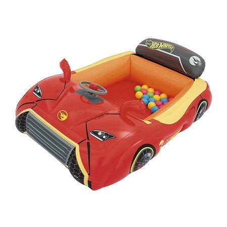 Игровой центр Bestway Машина Hot Wheels с шариками