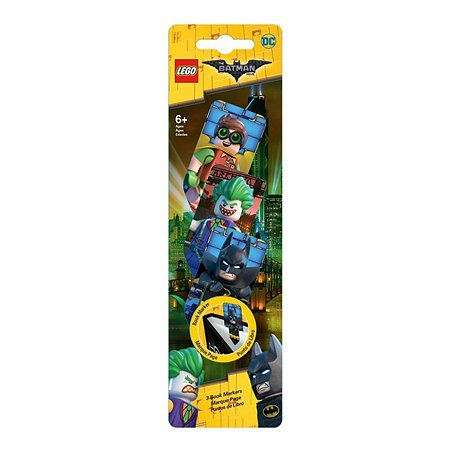 Набор LEGO закладок для книг 3 шт 3D