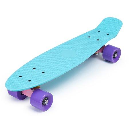 Скейтборд Kreiss 57 см бирюзовый