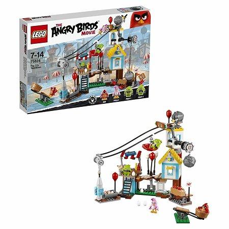 Конструктор LEGO Angry Birds Разгром Свинограда (75824)