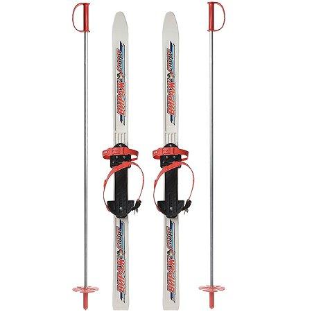 Лыжи STC Вираж-спорт детские Белые