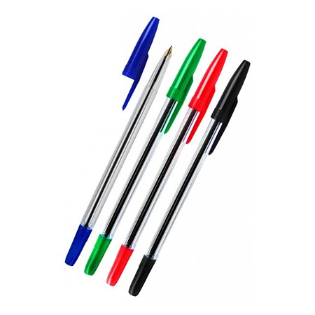 Ручка шариковая СТАММ СТАММ 511 4 цв.