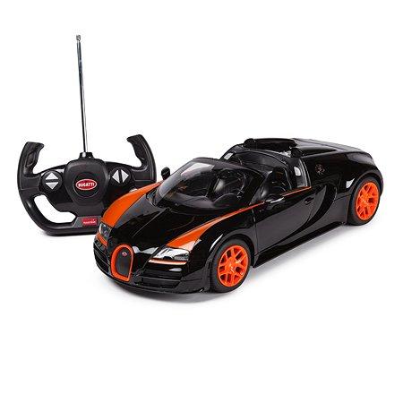 Машинка радиоуправляемая Rastar Bugatti GS Vitesse 1:14 черная