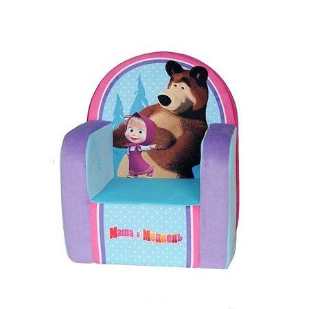 Кресло детское Смолтойс с чехлом 53*41*32 Маша и Медведь