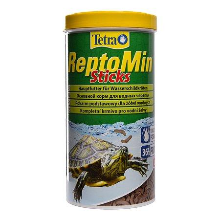Корм для черепах Tetra ReptoMin водных Палочки 1 л