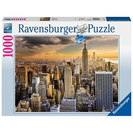 Пазл Ravensburger Большой Нью-Йорк 1000элементов 19712