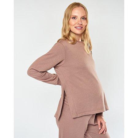 Свитшот для беременных и кормящих Futurino Mama розовый