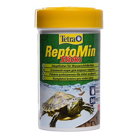 Корм для черепах Tetra ReptoMin водных Палочки 100 мл