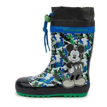 Резиновые сапоги Mickey Mouse чёрные