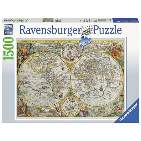 Пазл Ravensburger Историческая карта 1500элементов 16381