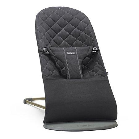 Кресло-шезлонг BabyBjorn Bliss Cotton Черный