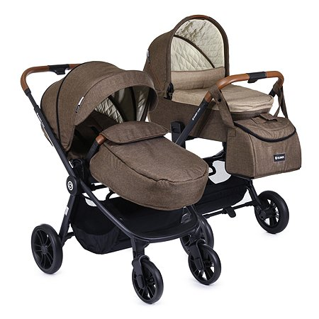 Коляска 2в1 Olsson Combi Brown