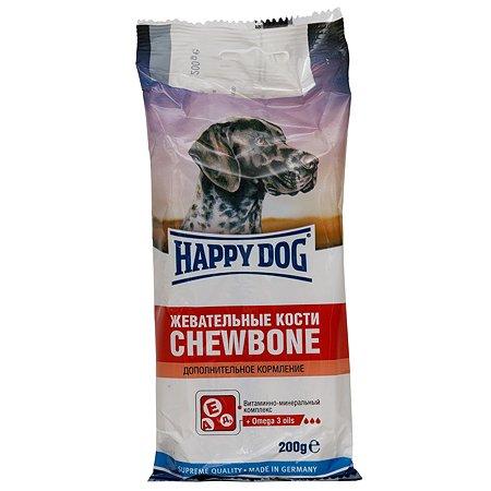 Лакомство для собак Happy Dog Кости жевательные 200г