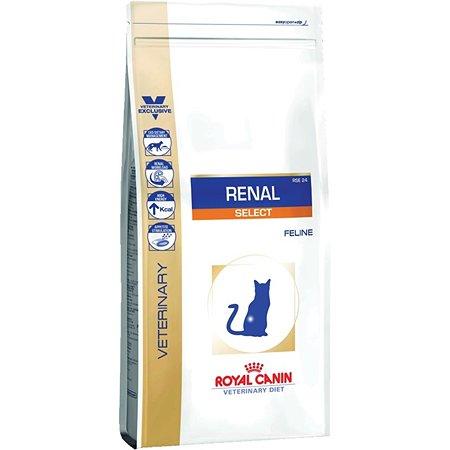 Корм для кошек ROYAL CANIN Renal Select с хронической почечной недостаточностью 0.5кг