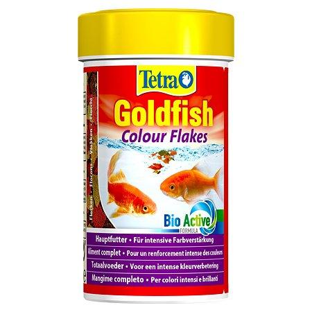 Корм для рыб Tetra Goldfish Colour золотых для улучшения окраса Хлопья 100мл