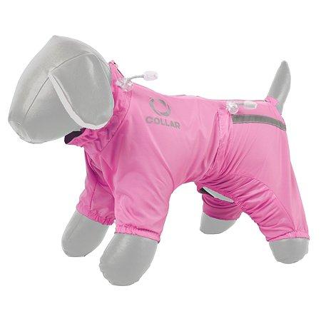 Комбинезон для собак CoLLar №10 утепленный Розовый 17917