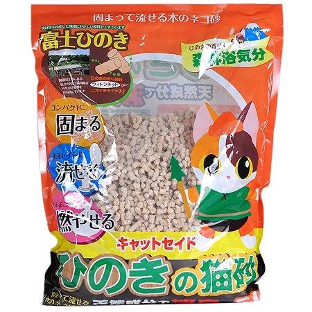 Наполнитель для кошек Catseido древесный из японского кипариса Hinoki 5л