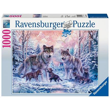 Пазл Ravensburger Северные волки 1000элементов 19146