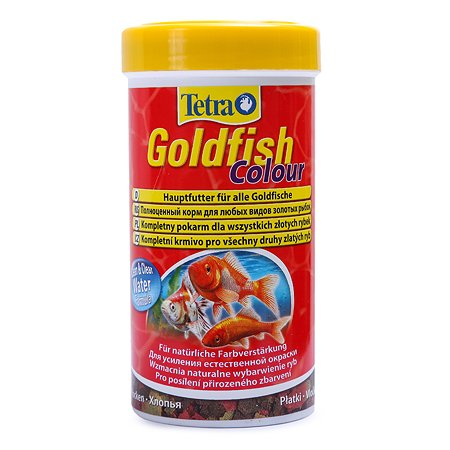 Корм для рыб Tetra Goldfish Colour золотых для улучшения окраса Хлопья 250мл