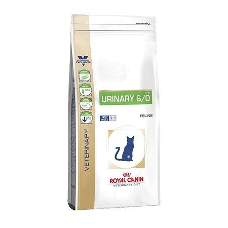 Корм для кошек ROYAL CANIN Urinary S/O LP34 Лечение и профилактика МКБ 1.5кг