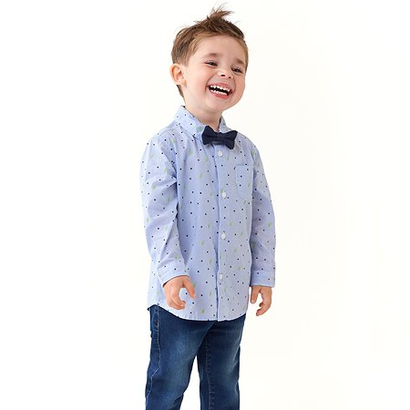 Рубашка BabyGo голубая